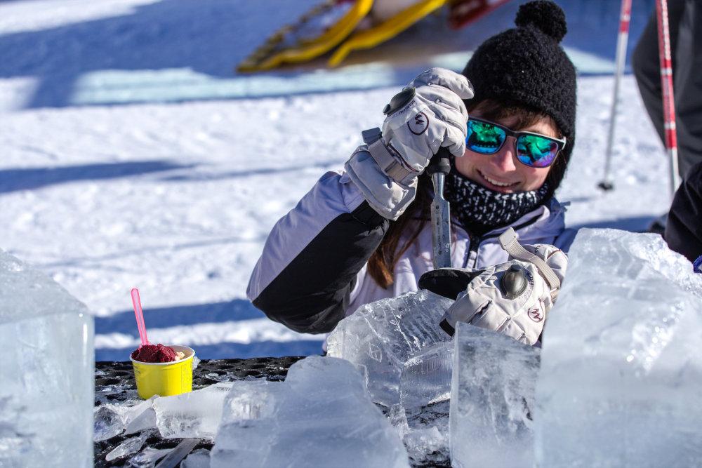 Sculpter la glace