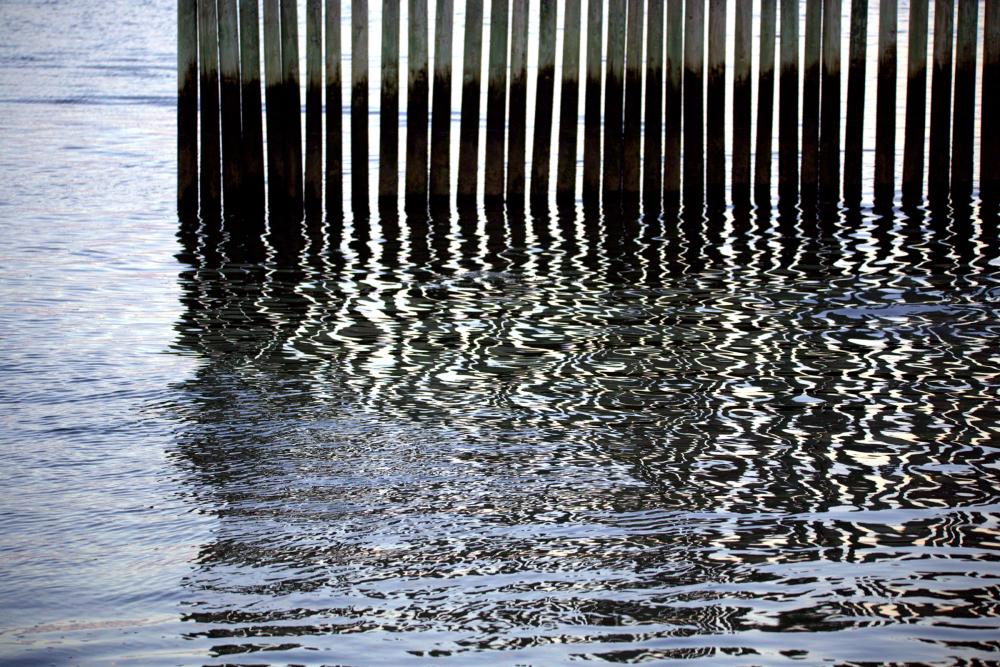 Reflet déformant