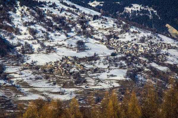 Les villages à flanc de montagne