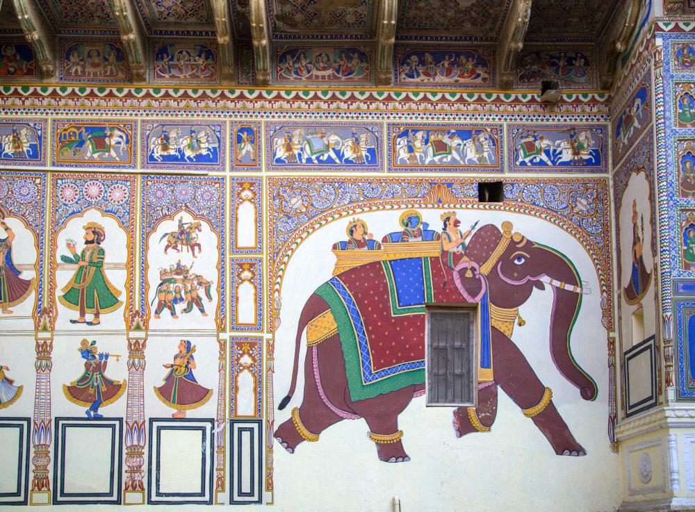 L'éléphant de Mandawa