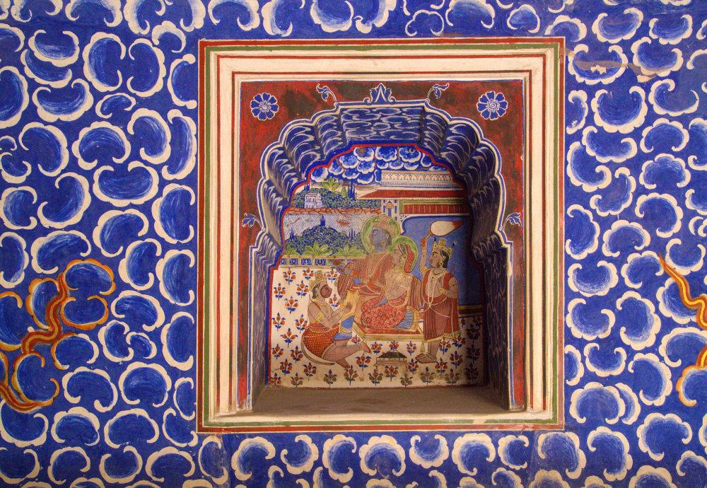 La décoration du palais
