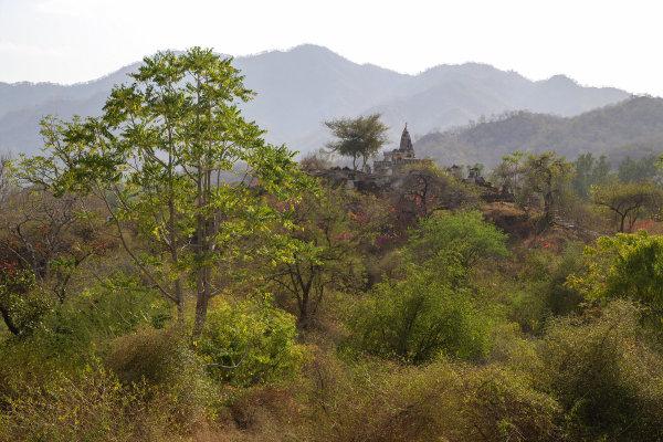 La montagne près de Jodhpur