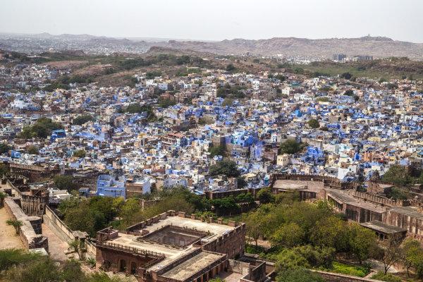Jodhpur, ville bleue.