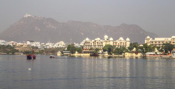 Le lac d'Udaïpur