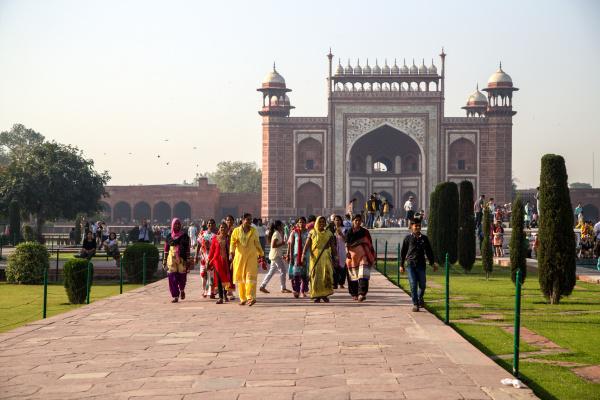 Visite du Taj Mahal 1