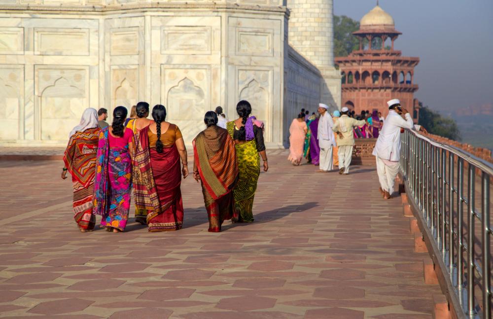 Visite du Taj Mahal 2