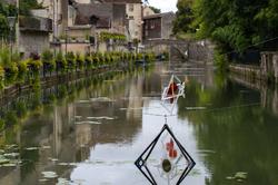Le canal des tanneurs à Dole.