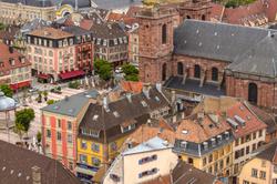 Belfort depuis la citadelle.