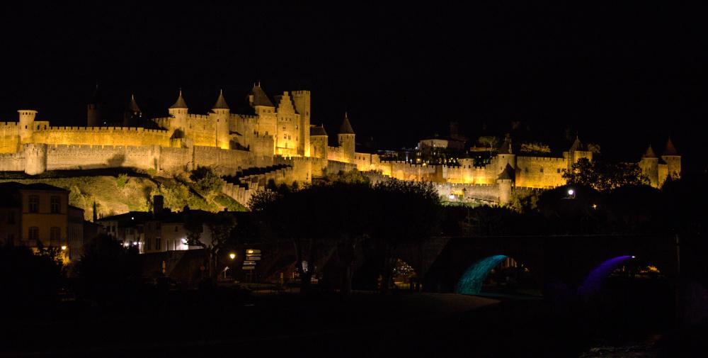 Citadelle de nuit.
