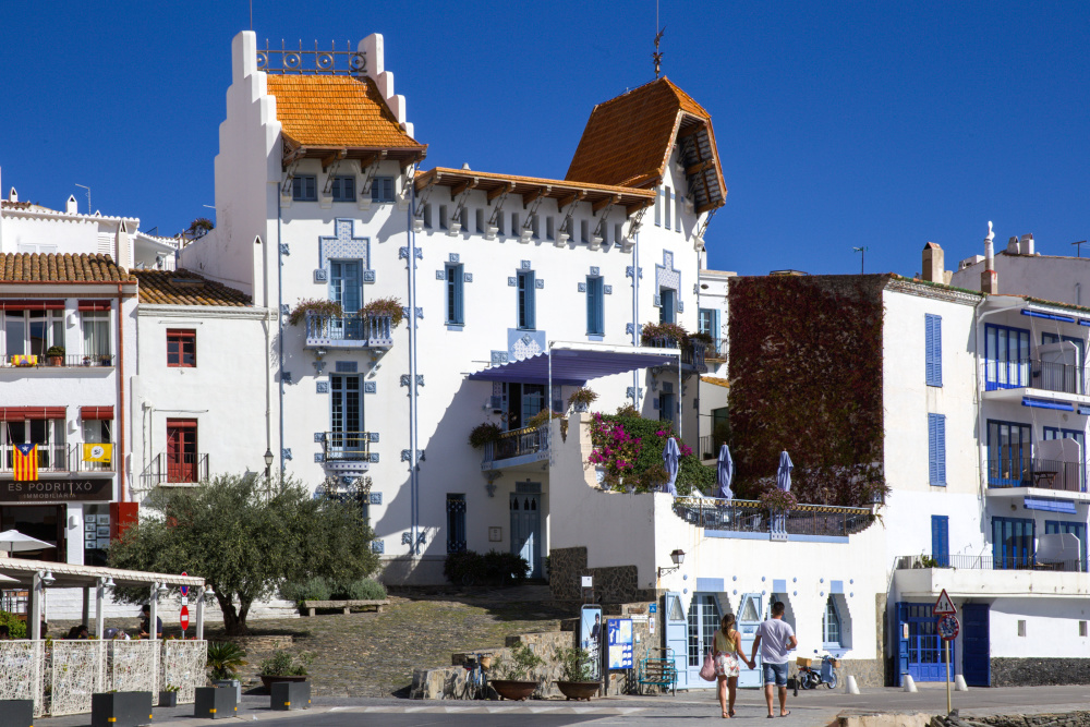 La maison bleue de Cadaques.