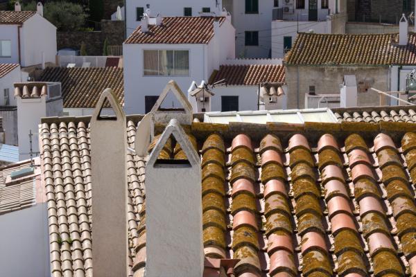 Les toits de Cadaques 2