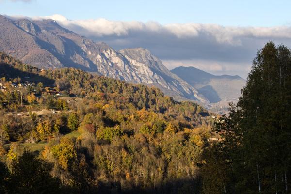 Nuages sur la montagne 2