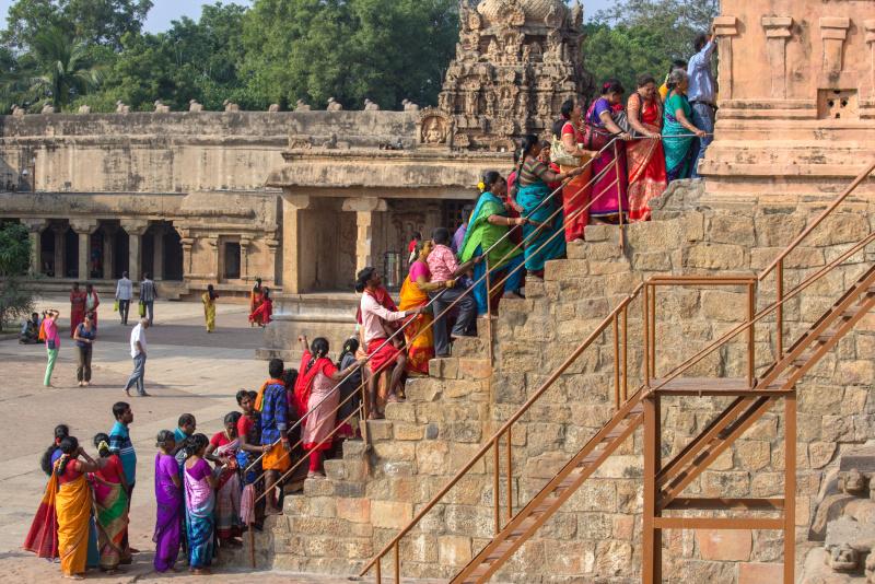 La fréquentation du temple.