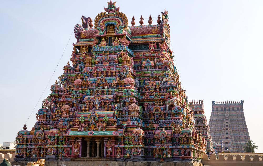 Srirangam Temple.