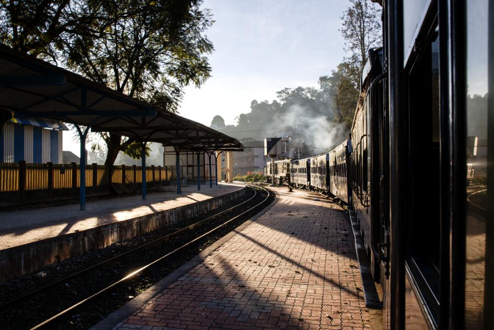 Le train de Conoor à Ooty.