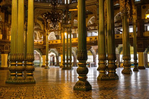 Les trésors du Palais de Mysore