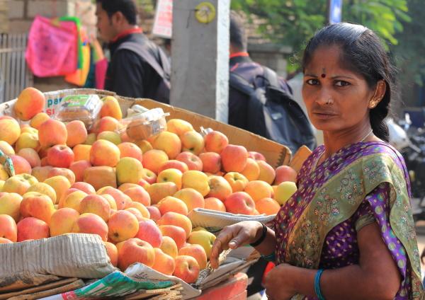 Au marché de Mysore