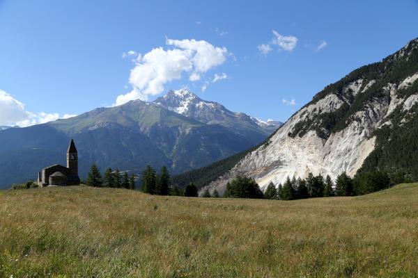 Paysage alpin.