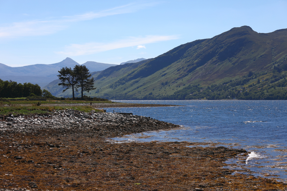 Soleil sur le Loch Broom