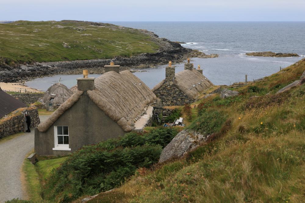 Village typique des Hébrides.