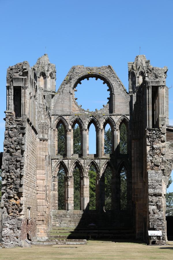 Cathédrale d'Elgin.