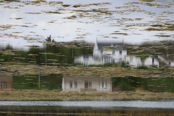 Reflets à Lochinver.