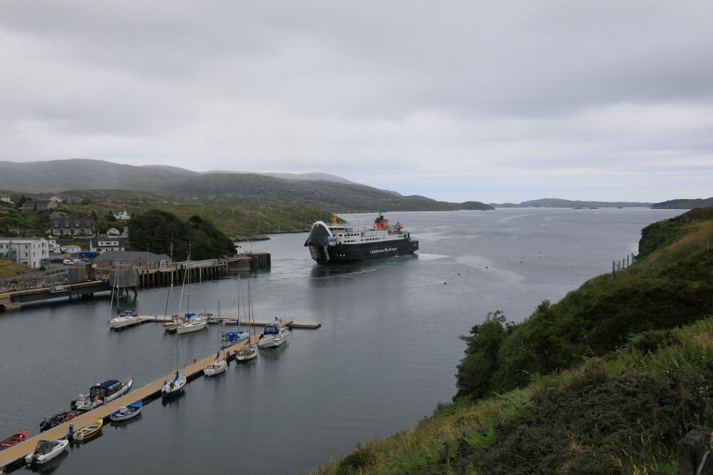 Le ferry de l'Ile de Skye