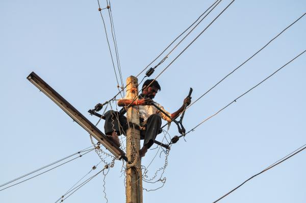 La fée électricité.