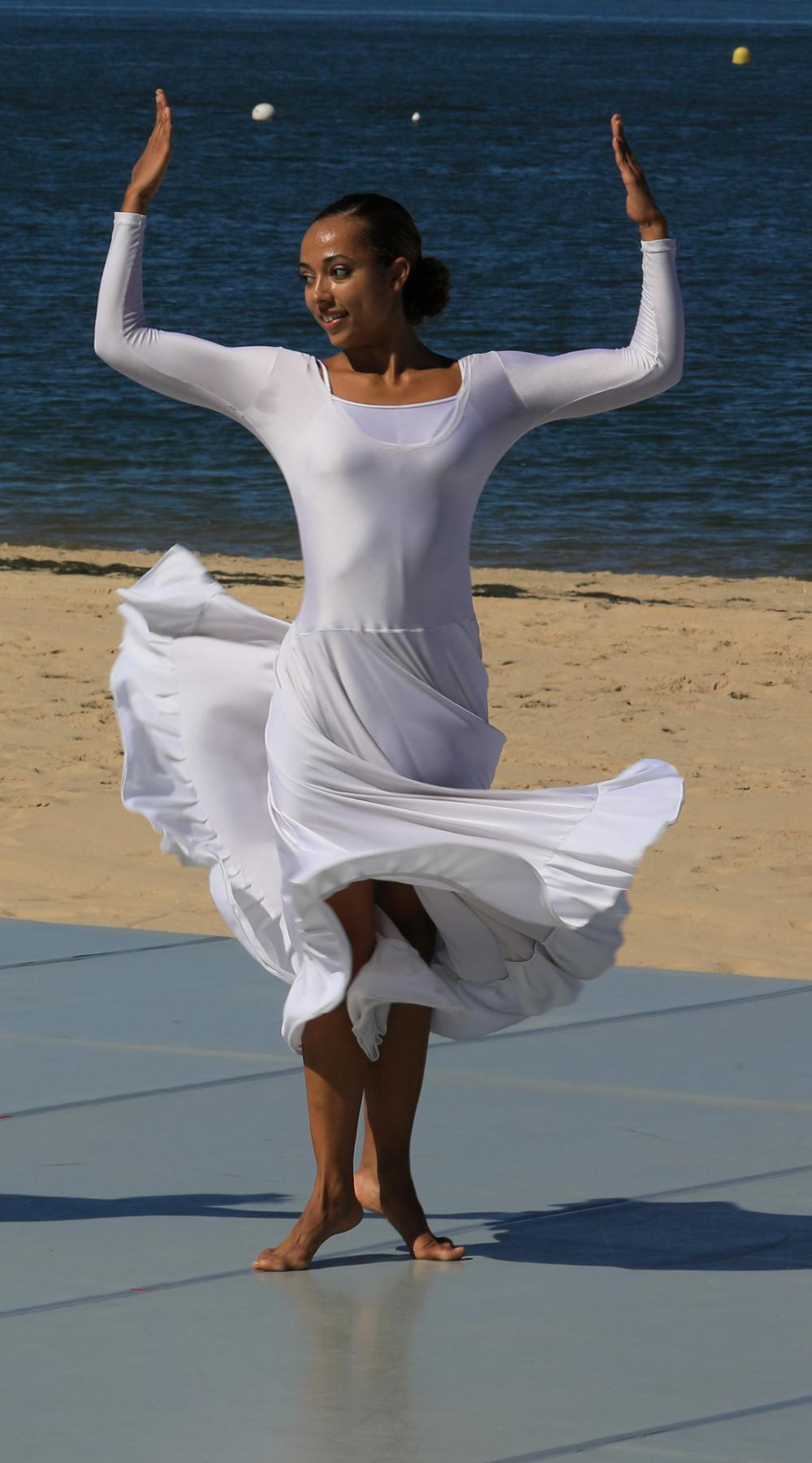 Danse sur un gospel.