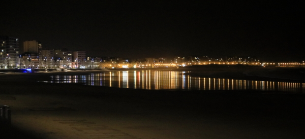 Le front de mer...