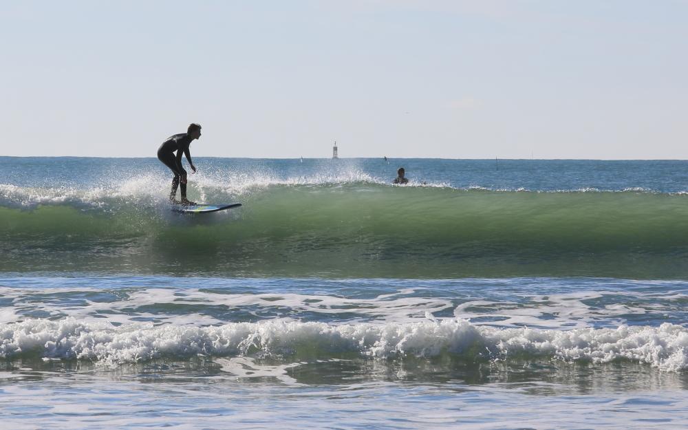 Joie du surf...