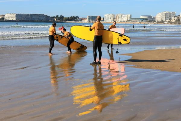 Entre surfers...