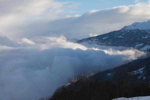 Le matin sur la vallée...