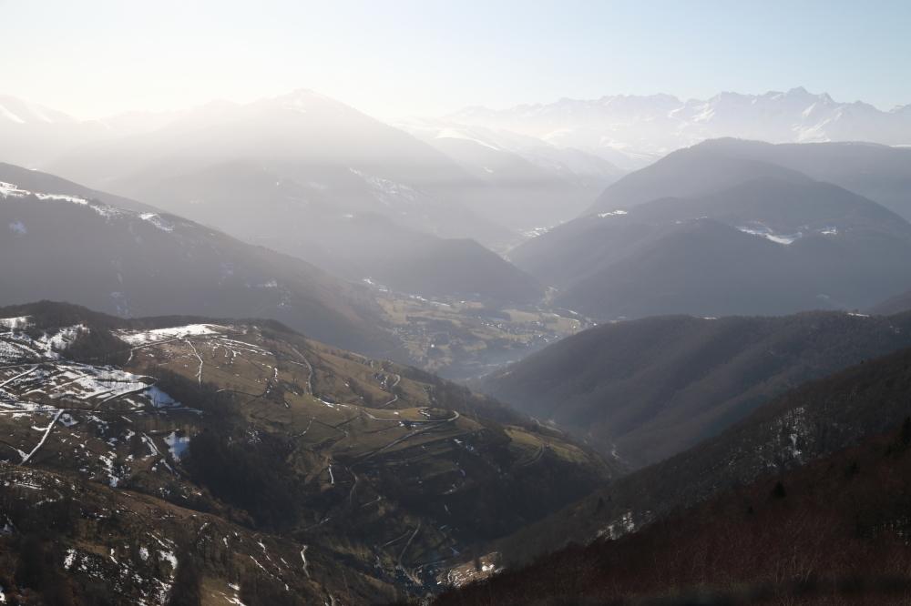 Matin brumeux au col d'Aspin