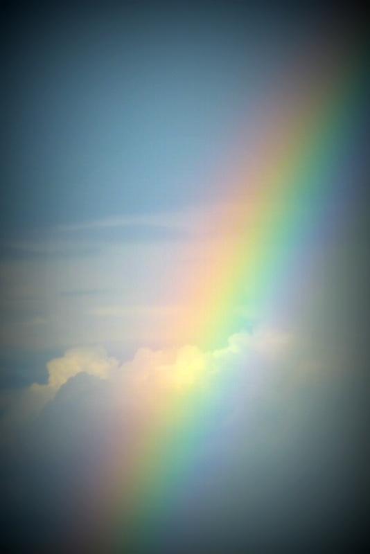 Les couleurs de la vie estompent les nuages !