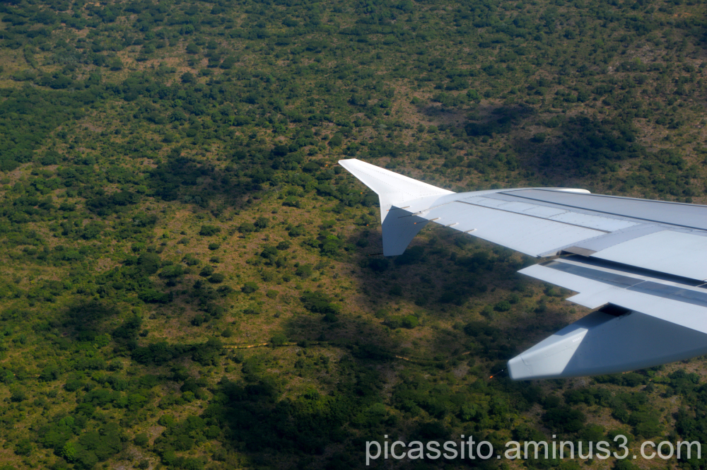 Descent to Punta Cana