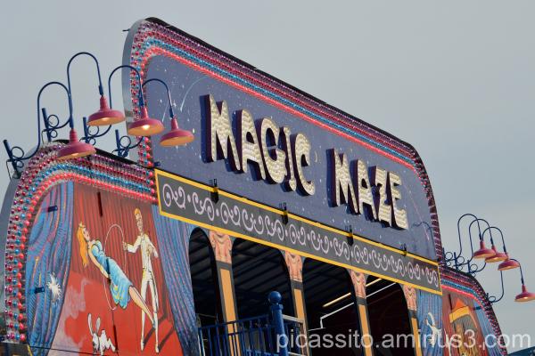 The Magic Maze Ride