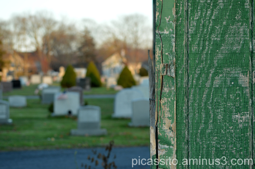 At The Edge of the Graveyard