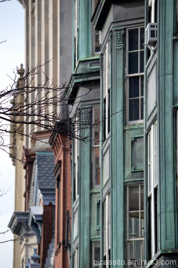 Newbury Street Facade