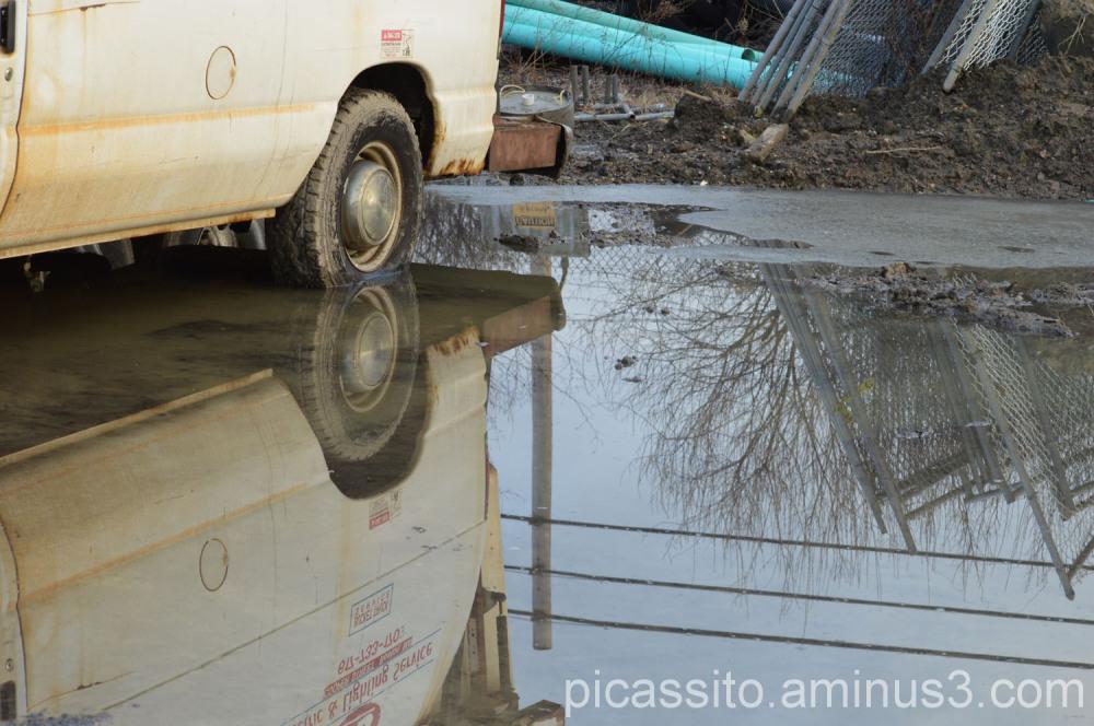 Truck Reflection