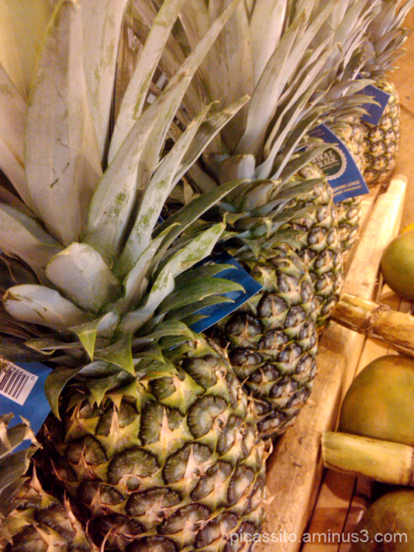 Pretty Pineapples All In A Row