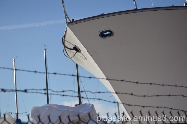 Boat in Chelsea Dock