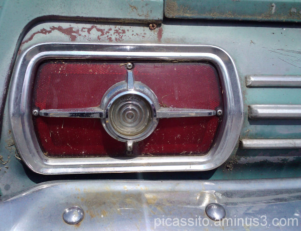 Old Ford Tail Light