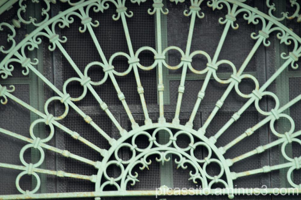 Wrought Iron Doorway