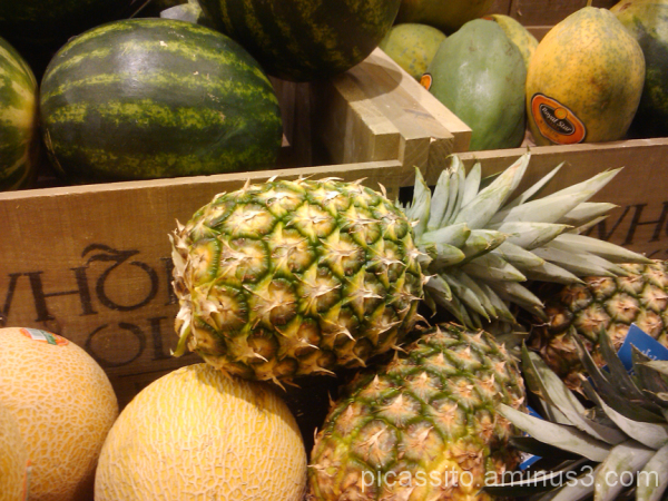 Cantaloupe and Pineapples