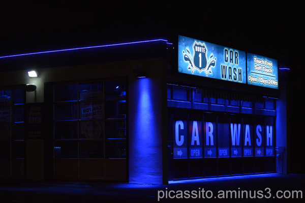 Blue Car Wash