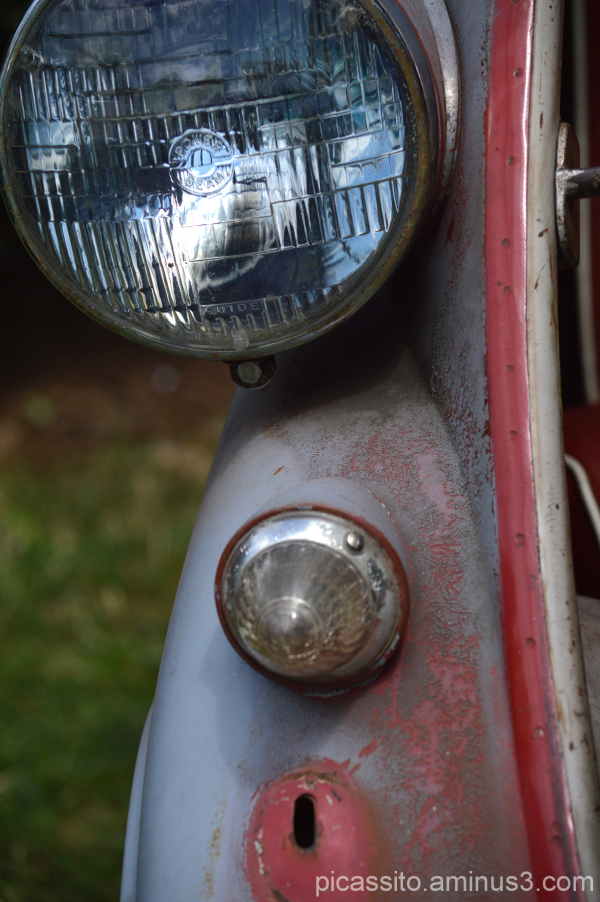 Rusted Isetta Headlight