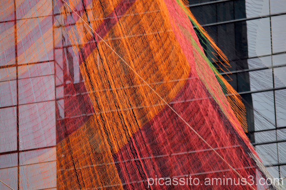 The Echelman Installation