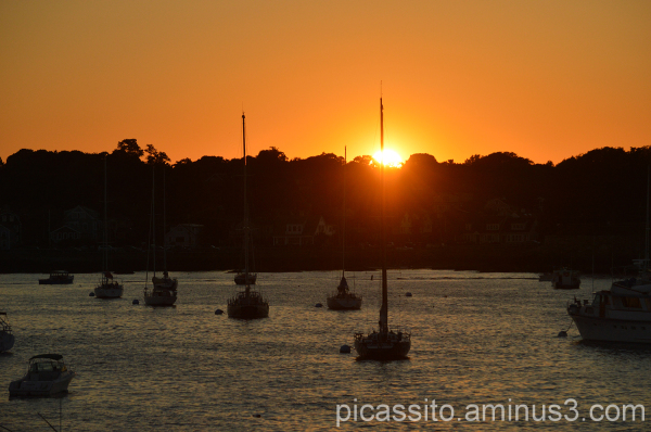 Marblehead Sunset