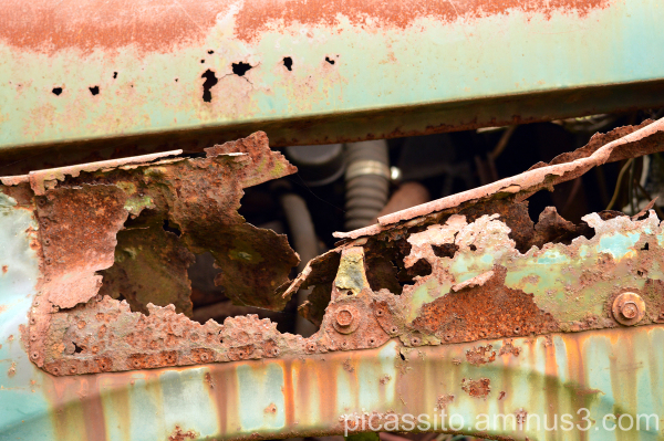 Seeing Through the Rust